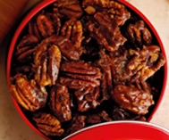 Spiced Pecans as Gifts